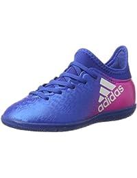 adidas X 16.3 In J, Zapatillas de Fútbol Unisex Niños