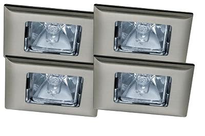 Paulmann 99572 Premium EBL Set Quadro 4x35W 150VA 230/12V GU5,3 68mm Eisen geb/Alu Zink von Paulmann Leuchten auf Lampenhans.de