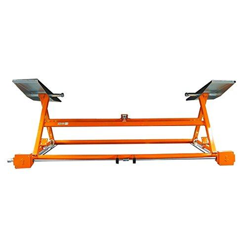 Mobile Hebebühne mechanischer mobiler Heber Orange