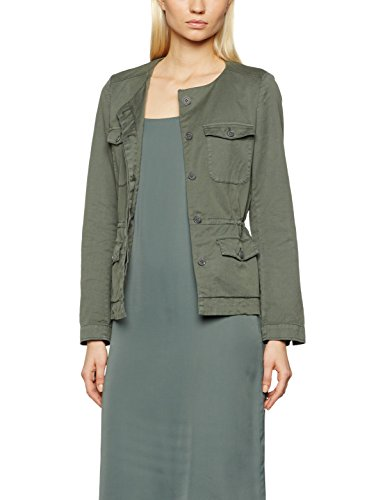 Marc O\'Polo Damen 702002180091 Blazer, Grün (Washed Moss 498), 36