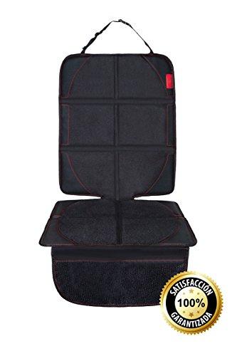 Bsafe™ Protector Universal para Asiento de Coche | Antideslizante y Resistente | Diseño Especial para Silla de Bebe | ISOFIX Compatible | Material Oxford 600D de alta calidad