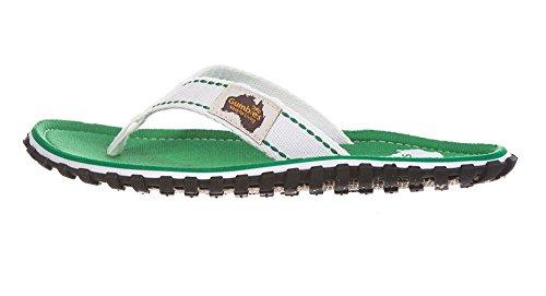 Gumbies Damen Zehentrenner - Rosa/Blau Schuhe in Übergrößen Grass