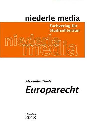 Europarecht: Studienbuch - 2018