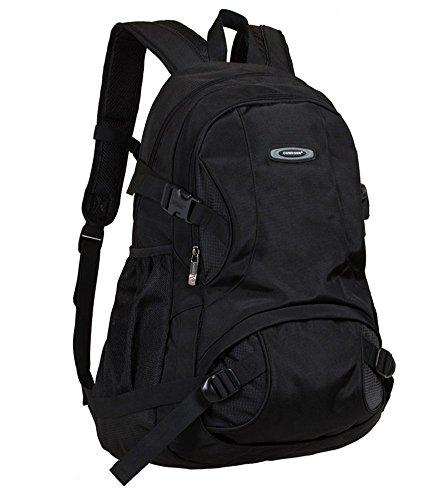 Everdoss Hommes Femmes sac à dos en Nylon sac de sport loisirs voyage sac d'ordinateur jusqu'à 14 pouces à la mode