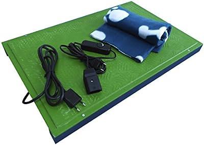 Manta eléctrica de calefacción para perros, gatos y mascotas. Calefacción para perros y gatos.