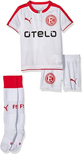 PUMA Kinder Set F95 Home Minikit, White-Red, 104, 924255 02