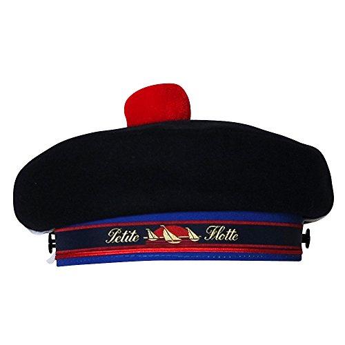 Chapeau-tendance - Beret Marin Bleu - 55 - Homme