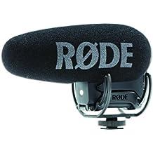 Rode Videomic PRO + Microfono per Camera Digitale -33.6 dB, 20-20000 Hz, Supercardioid, 200 Ω, con Cavo, Nero