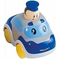 Bieco 19002701 - Drück Und Los Autos, Sortiert als Feuerwehr oder Polizei