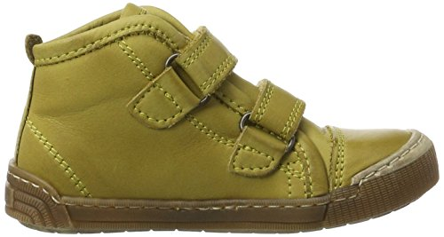 Bisgaard - Klettschuhe, Pantofole a Stivaletto Unisex – Bambini Gelb (8000 Yellow)