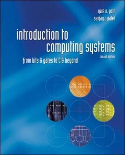 pdf download Introduction to Computing Systems: From Bits