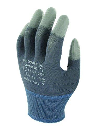 Ansell Picosoft DG Gants pour usages multiples, protection mécanique, Gris, Taille 11 (Sachet de 12 paires)
