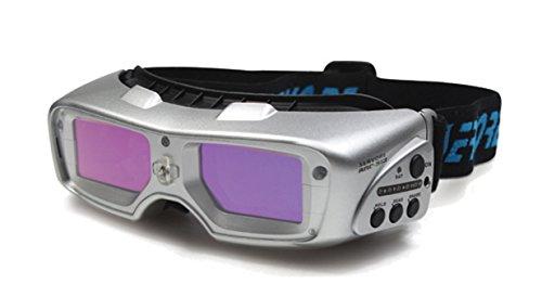 Soldador para soldadura por arco eléctrico Servore Shield-513 abdunkelnde automáticamente automático de seguridad para soldar soldador para gafas joyería plateado...
