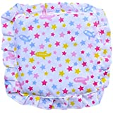 Premium Quality Mustard Seeds Baby Sleeping Pillow,New Born Baby Cotton Soft Fabric Musterd Seeds Rai Pillow For Baby Head Shaping Takiya Detachable Mustard / Rai Seed Pouch For Easy Washing By GoodLuck A To Z Born Baby Items™ (White Cartoon Aeropla
