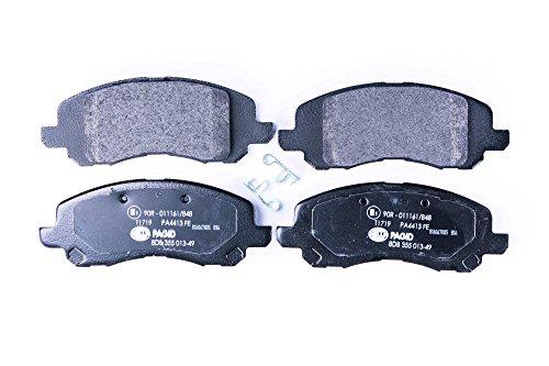 HELLA PAGID 8DB 355 013-491 Kit pastiglie freno, Freno a disco, Assale anteriore