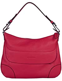 Kesslord Foulonne Anytime - Bolso al hombro de Otra Piel para mujer rojo Rouge - R