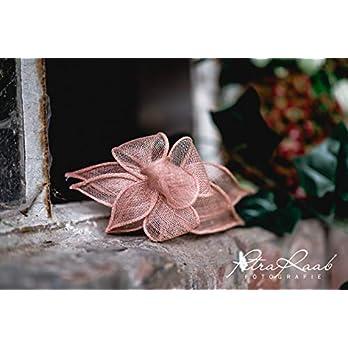 B22 BESTSELLER nude puder Haarreifen Fascinator Headpieces Headband Bridal flowers Rockabilly Style Oktoberfest Fasching…