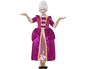 Smiffy's Georgian Girl Horrible Histories Childrens Fancy Dress Costume - Medium, 143 cm, Age 7-9 Years