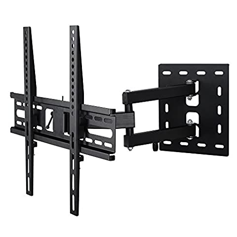 Leaptek Cantilever Arm Tilt And Swivel TV Wall Bracket For 23 - 50 Inches 4K FULL HD 1080P LCD LED Plasma Flat Screen TVs Load Capacity up to 35KG Max VESA 400 x 400