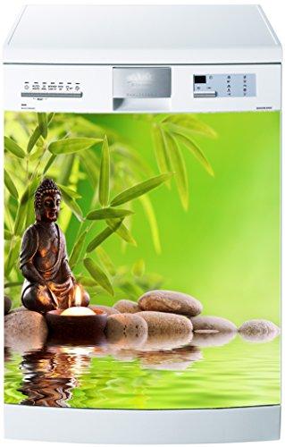 Preisvergleich Produktbild stickersnews–Magnet Spülmaschine Buddha 60x 60cm OEM 632
