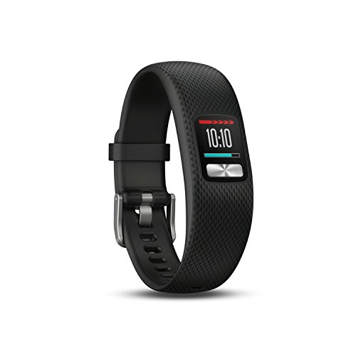 Garmin Vivofit 4 Activity Tracker, Black, Small/Medium