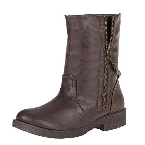Damenschuhe P448 Sneaker high braun (36,38,40,42) Metallic