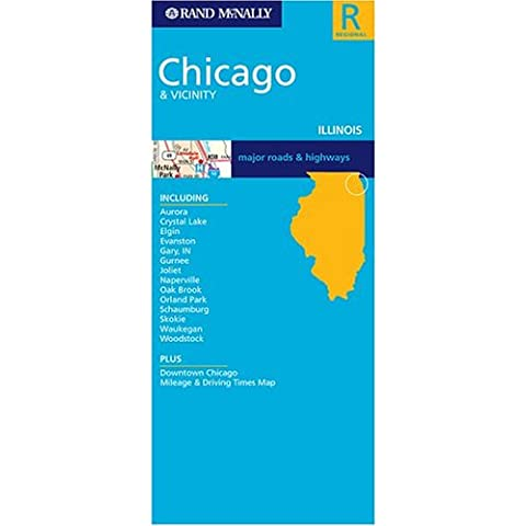 ** Chicago & Vicinity (Il) (Rand McNally Folded Map: Cities)