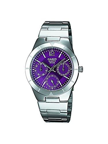 Casio Enticer Purple Dial Women's Watch - LTP-2069D-6AVDF (A535) image