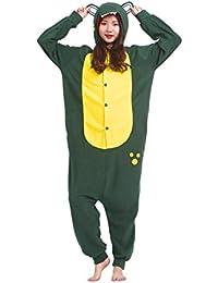 Magicmode Unisexe Animaux De Dessin Animé Pyjama Cosplay Costume Adulte À  Capuchon Onesie Kigurumi Partie De afe7ef78595