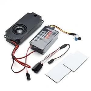 rc pièces automobiles moteur liaison accélérateur ensemble de sons avec un haut-parleur