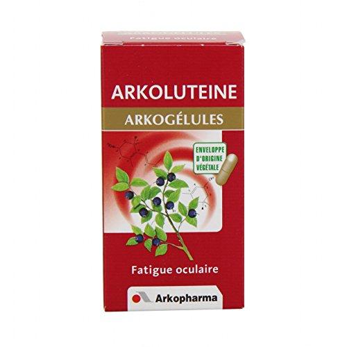 Arkopharma Phytothérapie Standard Arkogélules Arkolutéine Flacon de 45 Gélules