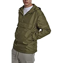 Light Pullover Jacket, Chaqueta para Hombre, Verde (Olive 00176), Medium Urban Classics