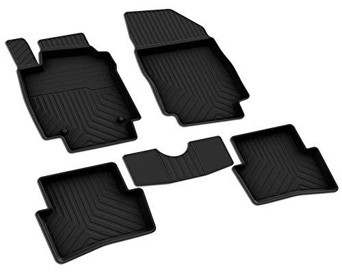 Renault Captur (1.Gen) Gummi Fußmatten Set Baujahr 2013-2019 Gen Gummi