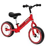 Kinder balancieren Fahrrad,Kind Kein Pedal Fahrrad Kind Flash-räder Scooter 3-8岁 Red-Rot 33.5 Zoll