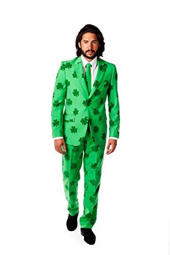 Opposuits Herren Anzug Glücksbringer, St. Patrick - Glücksbringer Kostüm