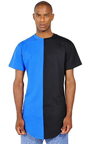 pizoff-hip-hop-homme-t-shirt-ultra-long-avec-ourlet-y1294-blue-s