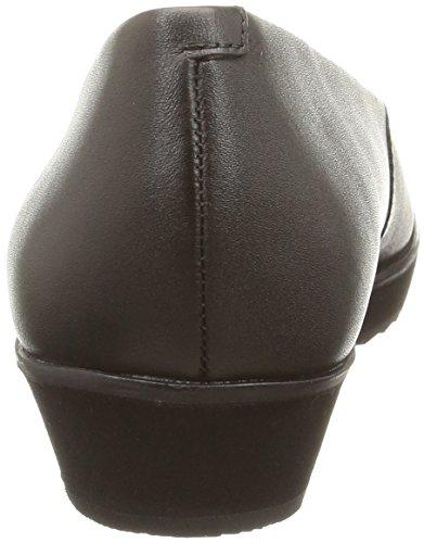 Clarks  Compass Zone,  Damen Ballerinas Schwarz (Black Leather)