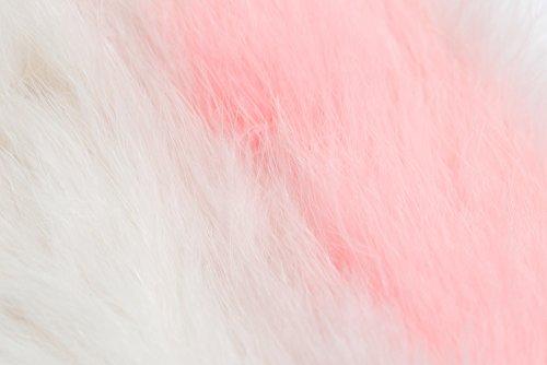 Zarapack , Sac bandoulière pour femme blanc blanc S rose/blanc