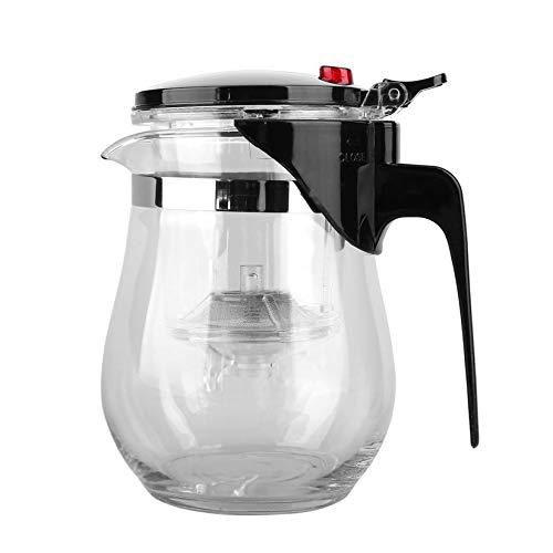 500 ML Kompakte Größe Hitzebeständige Glas Teekanne Bequem Home Office Chinesischen Kung Fu Tee...