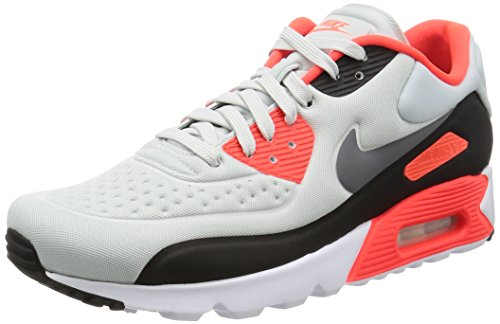 Nike Herren Air Max 90 Ultra Se Kurzschaft Stiefel, Mehrfarbig (Pure Platinum/Neutral Grey/Bright Crimson/Cool Grey), 44 EU