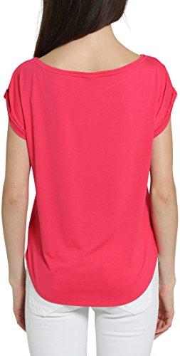 Berydale Damen T-Shirt Leger Geschnitten Rosa