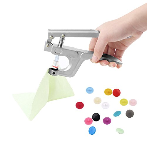 fdghhgjgtkuyiuy Button Snap Pliers Plastic Resin Press Stud Cloth Hand Pressure Clamp Button Installation Tool Pressure Deduction - Installation Stud Tool