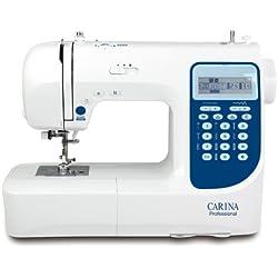 Carina 291875 Machine à coudre professionnelle avec accessoires,Blanc