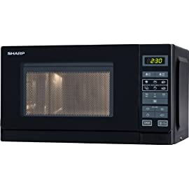 Sharp R-242 BKW forno a microonde [Importato dalla Germania]