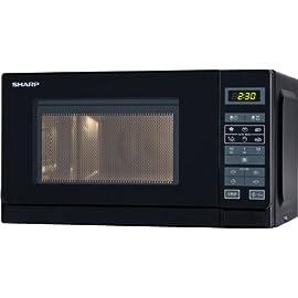 Sharp R-242 BKW forno a microonde [Importato dalla Germania]