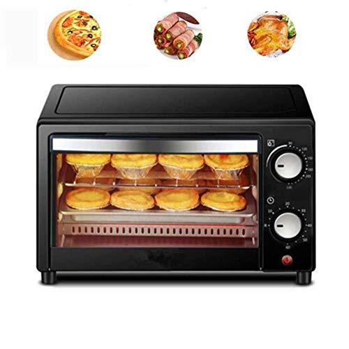ZZAZXB 12L Mini Oven Grill, Tostadora Eléctrica Doble, Tostadora, Reserva De Tiempo Y Control De Temperatura, Electrodomésticos De Barbacoa Multifuncionales