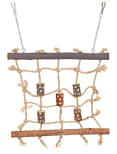 Trixie 5893 Natural Living Seil-Kletterwand, 27 × 24 cm