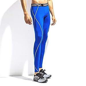 3afd5fffd2 Men's Compression Base Layer Leggings Men's High-elastic Compression  Fitness Pants Quick-drying Leggings