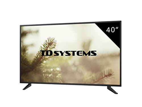 Televisores Led Full HD 40 Pulgadas TD Systems K40DLM7F (Resolución 1920x1080/ HDMI x3/ VGA x1/ USB Reproductor y Grabador) TV, Televisiones HD