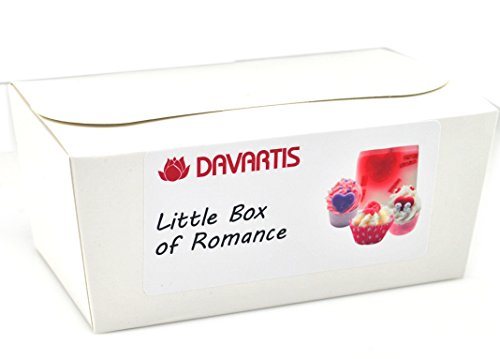 Davartis Little Box of Romance, Geschenkset Badepralinen